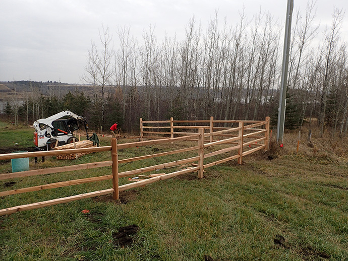 Cedar Split Rail Fencing Acreage And Farm Fencing