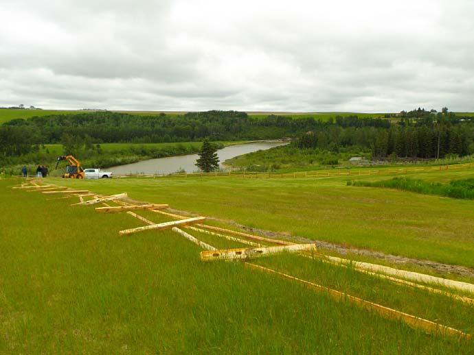 Cedar Split Rail Fencing Acreage And Farm Fencing